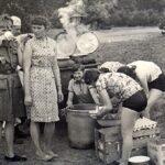 biwak w Bowszkowie 1965.