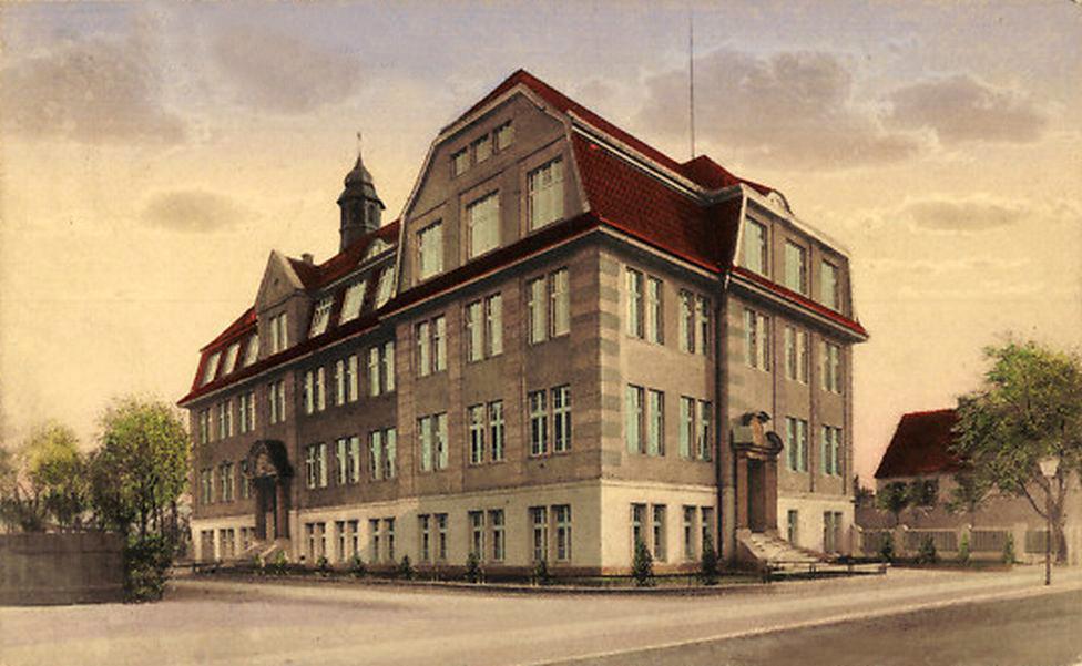 1912 Handels und Gewerbeschule