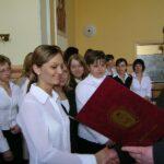 Rozdanie świadectw ukończenia szkoły